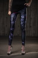 Heart beat leggings fram
