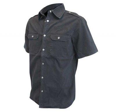 Jack Daniels skjorta med kort ärm (XL)