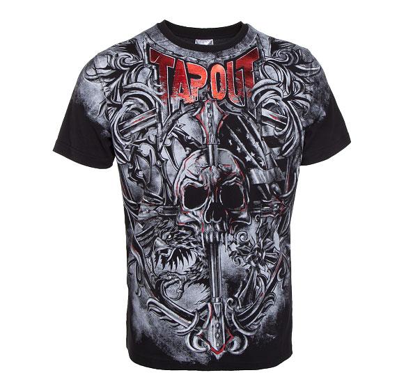 Bracket crest tapout t-shirt