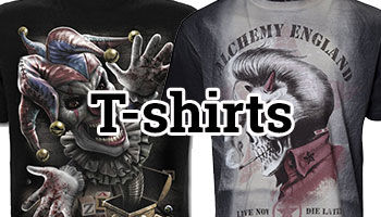Rock t-shirts herr