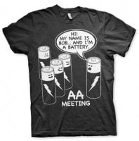 AA Battery Meeting T-Shirt