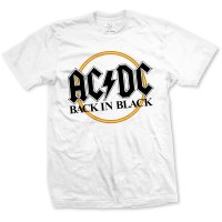 AC/DC t-shirt: Back in black