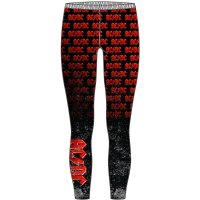 AC/DC Leggings: Logo Repeat