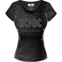 AC/DC t-shirt dam: Back In Black