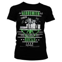 Aerosmith ROCKS Tour tjej t-shirt 1