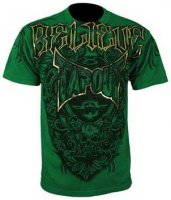 Agent shield grön Tapout t-shirt