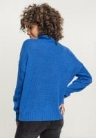 Ladies Oversize Turtleneck Sweater rygg
