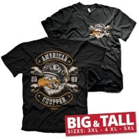 American Chopper - Cigar Eagle Big & Tall T-Shirt 1