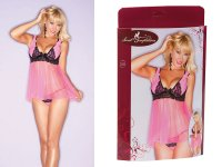 Babydoll rosa - Secret Temptations
