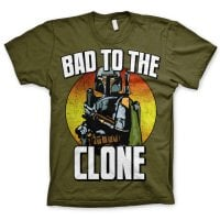 Bad To The Clone oliv t-shirt