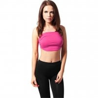 Ladies Bandeau Top rosa