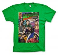 Big Bang Theory - Bazinga Comic Cover T-Shirt grön