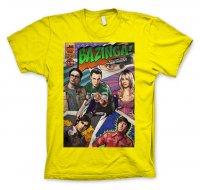Big Bang Theory - Bazinga Comic Cover T-Shirt gul
