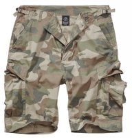 BDU ripstop shorts herr light woodland 1