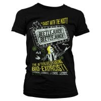 Beetlejuice - The afterlife's leading bio-exorcist T-shirt tjej