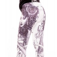 Bella Rose leggings