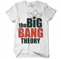 The Big Bang theory logo t-shirt