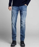 Blå jeans herr slim fit 1