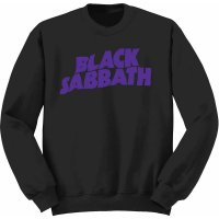 Black Sabbath sweatshirt barn: Wavy Logo fram