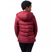 Bubberljacka ribbed burgundy bak