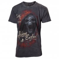 Burning devil rock t-shirt från Alchemy