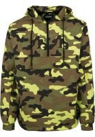 Camo pull over vindjacka 34