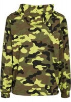 Camo pull over vindjacka 35
