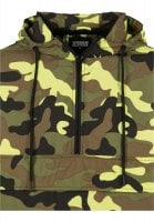 Camo pull over vindjacka 36