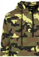 Camo pull over vindjacka 37