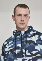 Camo pull over vindjacka 46