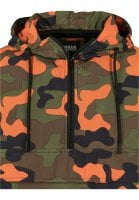 Camo pull over vindjacka 66