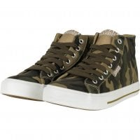 Canvas sneakers kamouflage 1