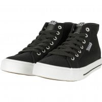 Canvas sneakers svart/vita
