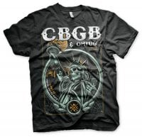CBGB - Statue of Underground Rock t-shirt