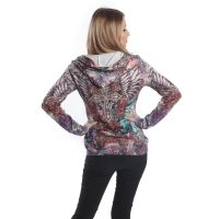 Celtic faith hood multicolor bak
