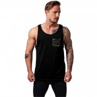 Contrast pocket jersey big tank camo