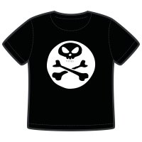 cool skull barn t-shirt