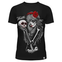 Crow girl T-shirt dam