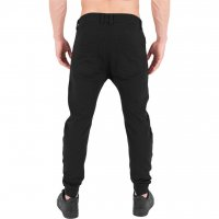 Curved sweatpants svart bak