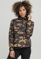 Dam anorack camo plus size wood