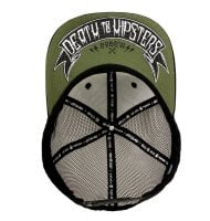 Death to hipsters snapback keps 2