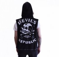 The Devil´s republic sleevess hoodie