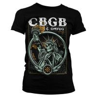 CBGB - Statue of Underground Rock Girly Tee