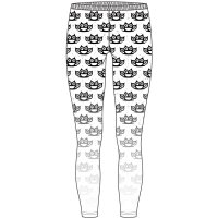 Five Finger Death Punch leggings: Knuckleduster