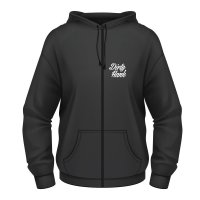 Flying skull dam hoodie från Dirty Hank framsida