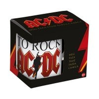 AC/DC for those about to rock mugg