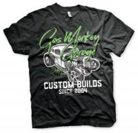 Gas Monkey Garage custom neon T-shirt