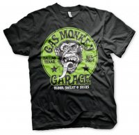 Gas Monkey Garage - Grön Logo t-shirt