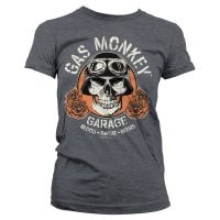 Gas Monkey Garage skull tjej T-shirt 1