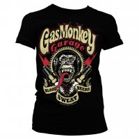 Gas Monkey Garage - Spark Plugs Girly Tee